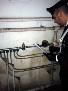 12.03.2015 - furto acqua e corrente a secondigliano 2