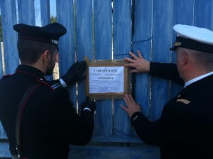 01.04.2015 - sequestro cantiere Torre del Greco