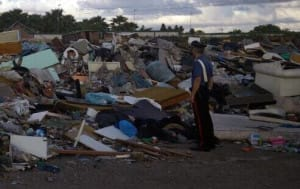 23.05.2015 - sequestro rifiuti giuglianese 2