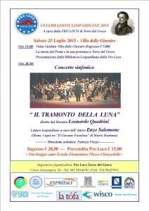 locandina concerto IL TRAMONTO - JPEG