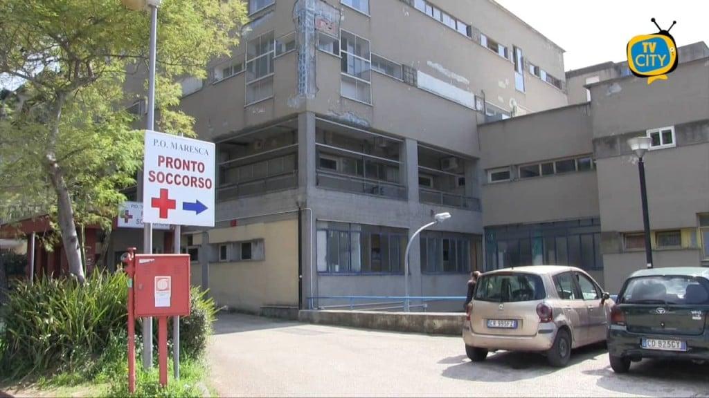 Torre del Greco, sospetta meningite: chiuso il pronto soccorso del Maresca