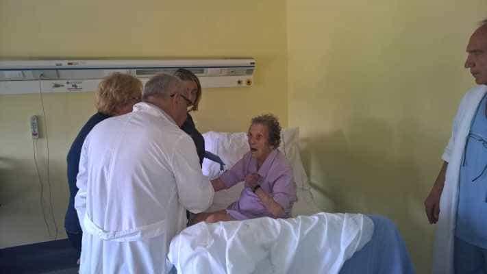 Boscoreale. Operata al femore a 104 anni, sta bene