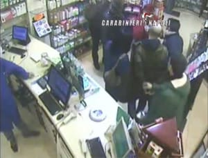 arresto rapinatore farmacia vomero