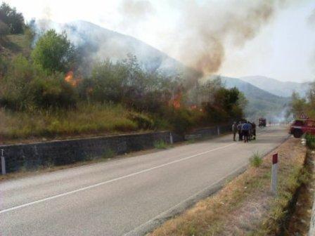incendi roghi Vesuvio