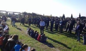 cerimonia auguri scuole parco maiuri