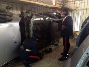 17.01.2016 - auto rubate San Sebastiano al Vesuvio