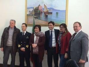 Delegazione istituzionale di parlamentari regionali del PD visita la Capitaneria di Porto di Torre del Greco