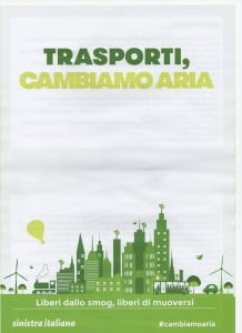 Sinistra Italiana - Trasporti, Cambiamo aria - 01