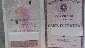 prima carta d'identità con consenso