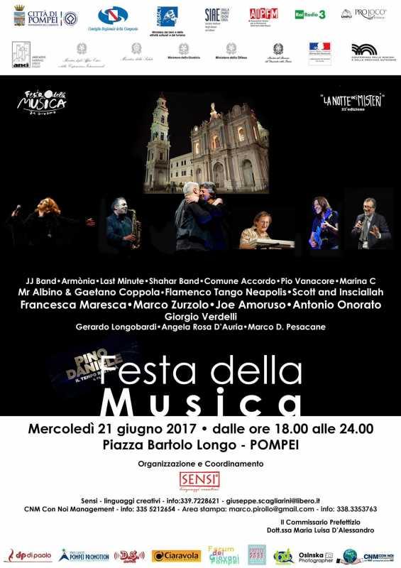 locandina Festa della Musica
