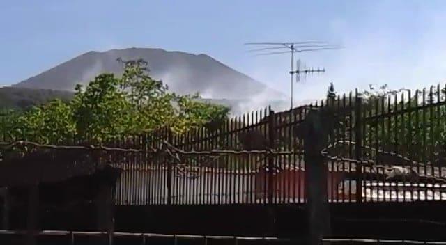 Incendi Torre del Greco, località Montedoro