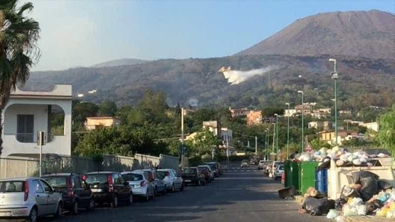 incendi Vesuvio