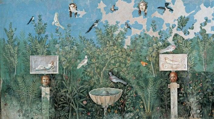 Pittura di giardino - Boscoreale