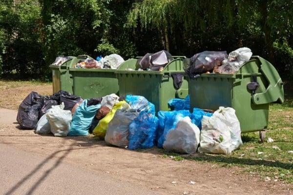 spazzatura e rifiuti