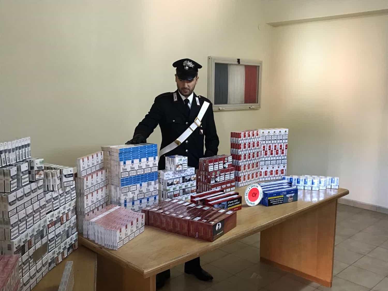 sigarette contrabbando sant'antimo