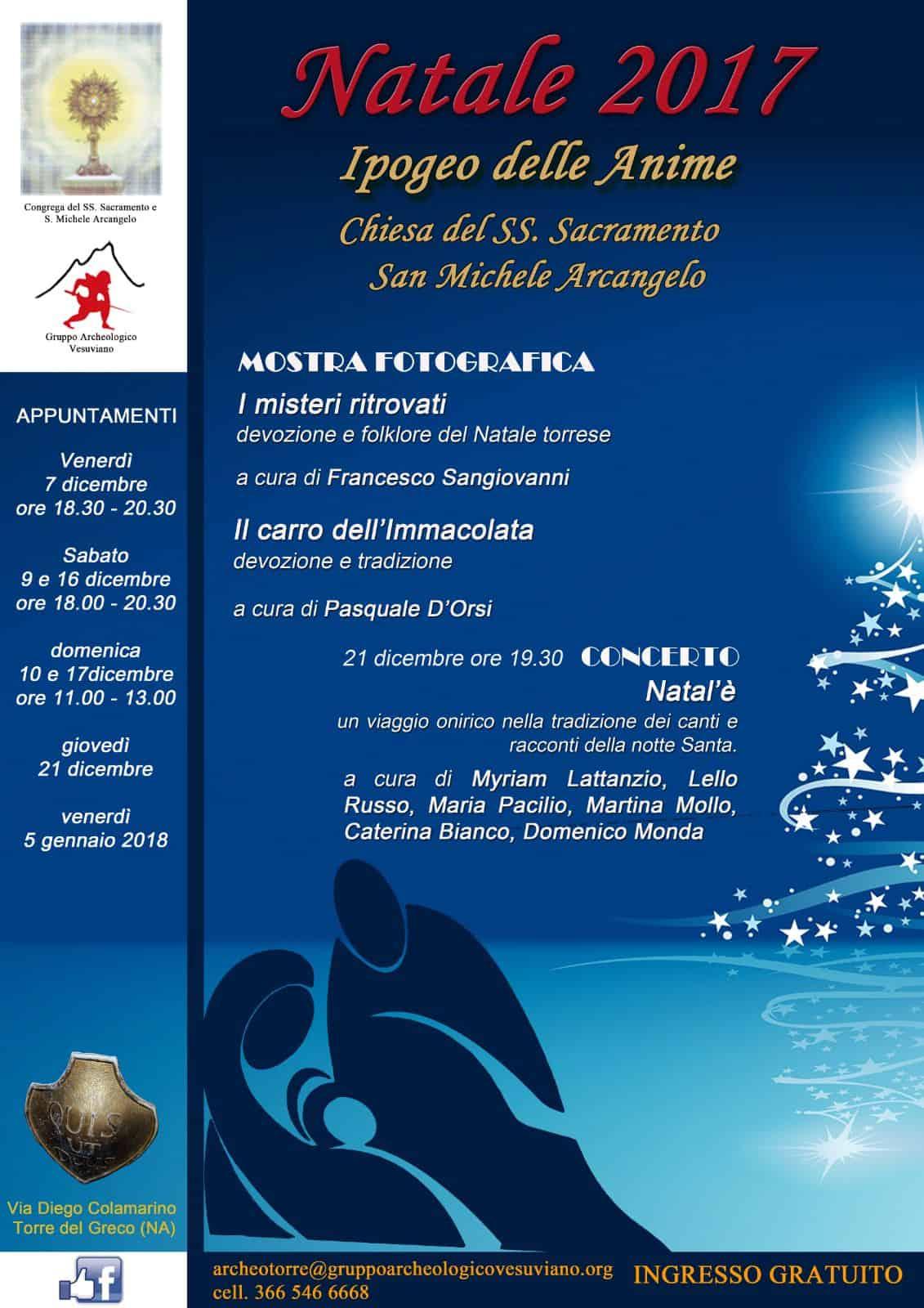 mostra fotografica natalizia nella chiesa di San Michele