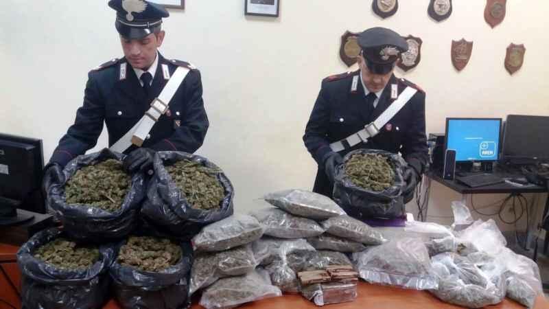 marijuana e hashish poggiomarino spacciatori