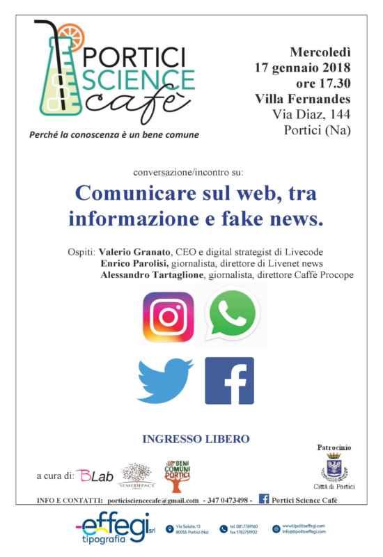 Comunicare sul web, tra informazione e fake news a Villa Fernandes