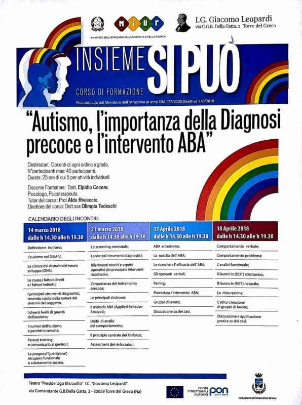 corso formazione autismo Torre del Greco