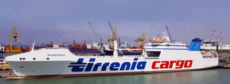 Tirrenia nave cargo 'Massimo Mura'