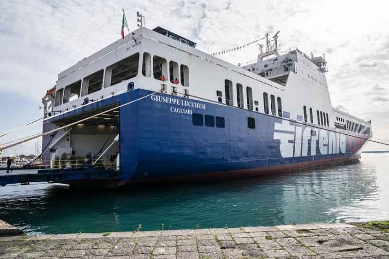 La nave 'Giuseppe Lucchesi', presentata pochi giorni fa a Catania