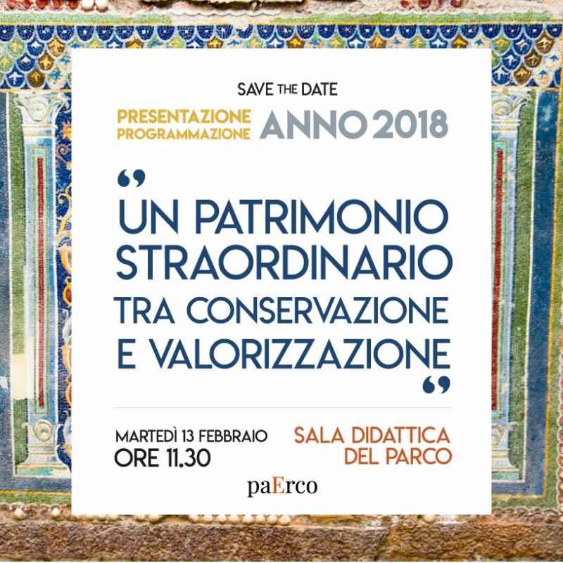 presentazione programma Scavi di Ercolano 2018