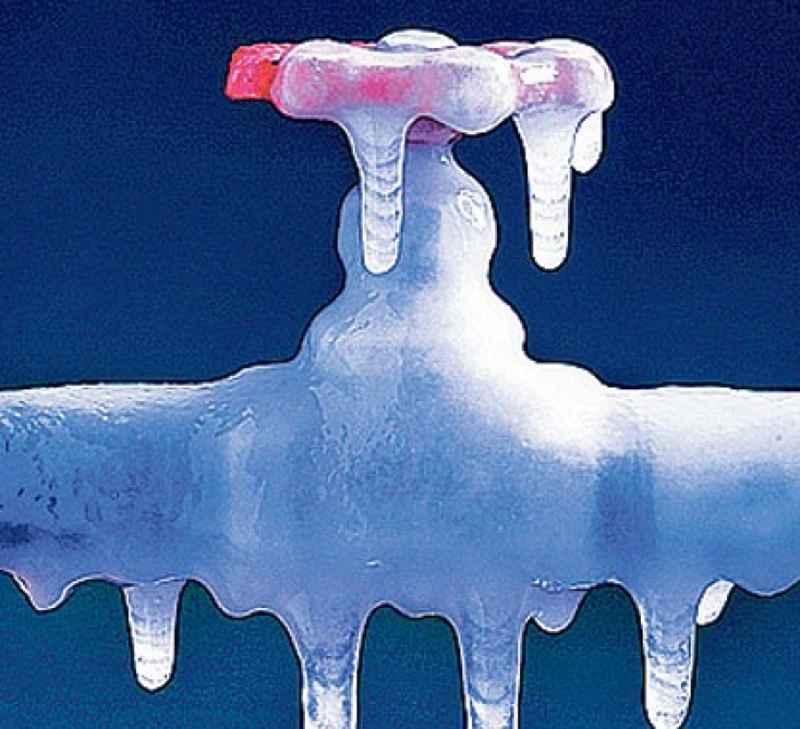 rubinetto gelo ghiaccio