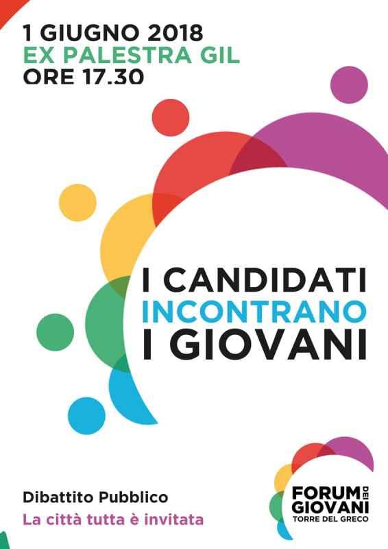 Locandina dibattito candidati sindaco