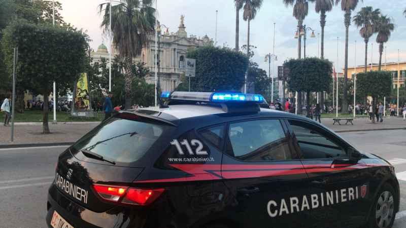 carabinieri pompei