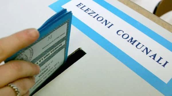 voto elezioni amministrative comunali
