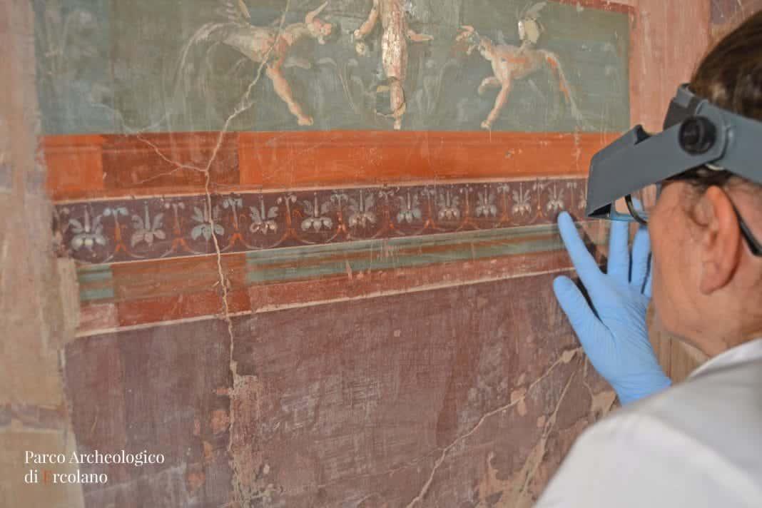 restauro scavi ercolano