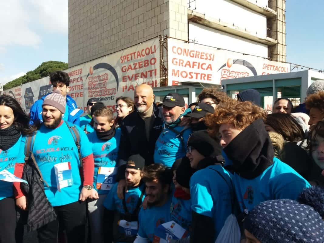 napoli family run & friends con Onorato