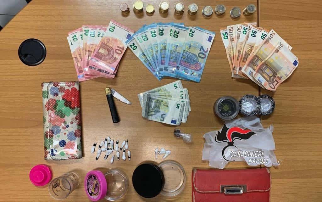 carabinieri cocaina pozzuoli