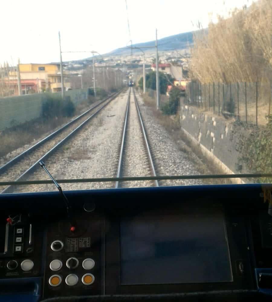 treno circum in avaria