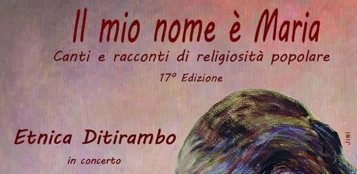 concerto etnica ditirambo