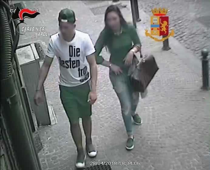 napoli furti rom