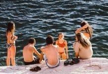 bambini mare