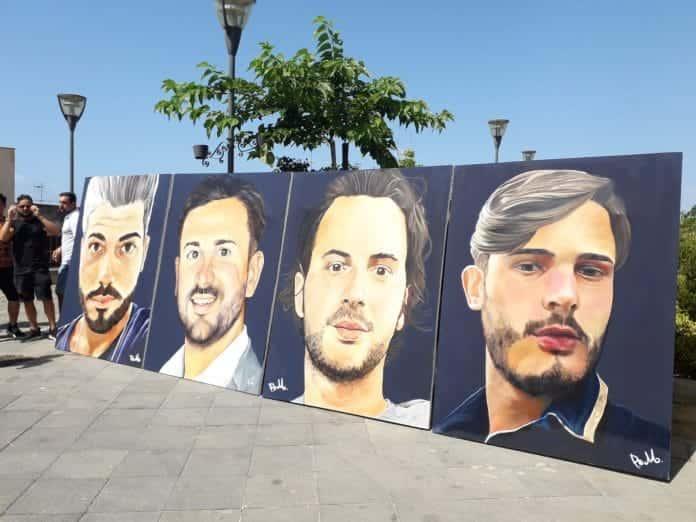 murales vittime crollo ponte morandi