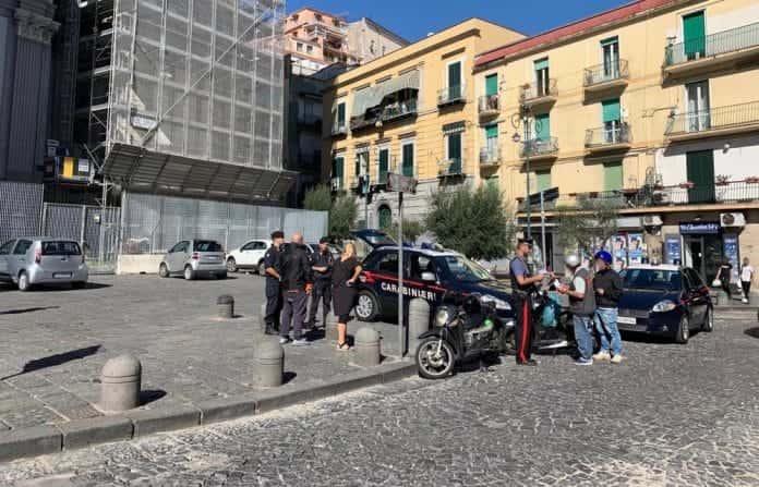 carabinieri rione sanità motoveicoli