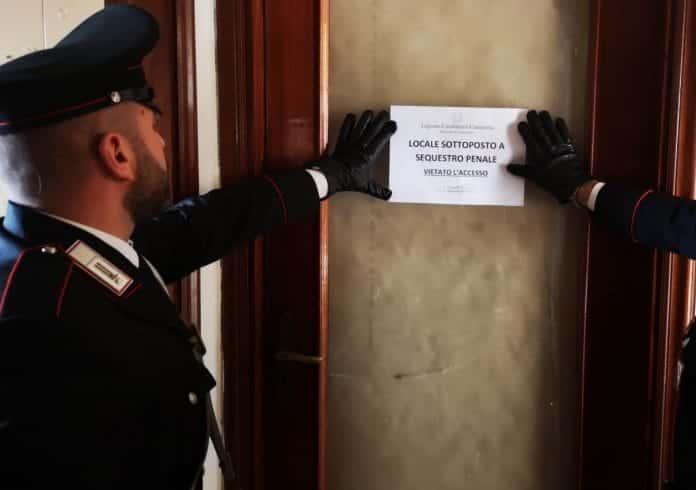 carabinieri prostituzione