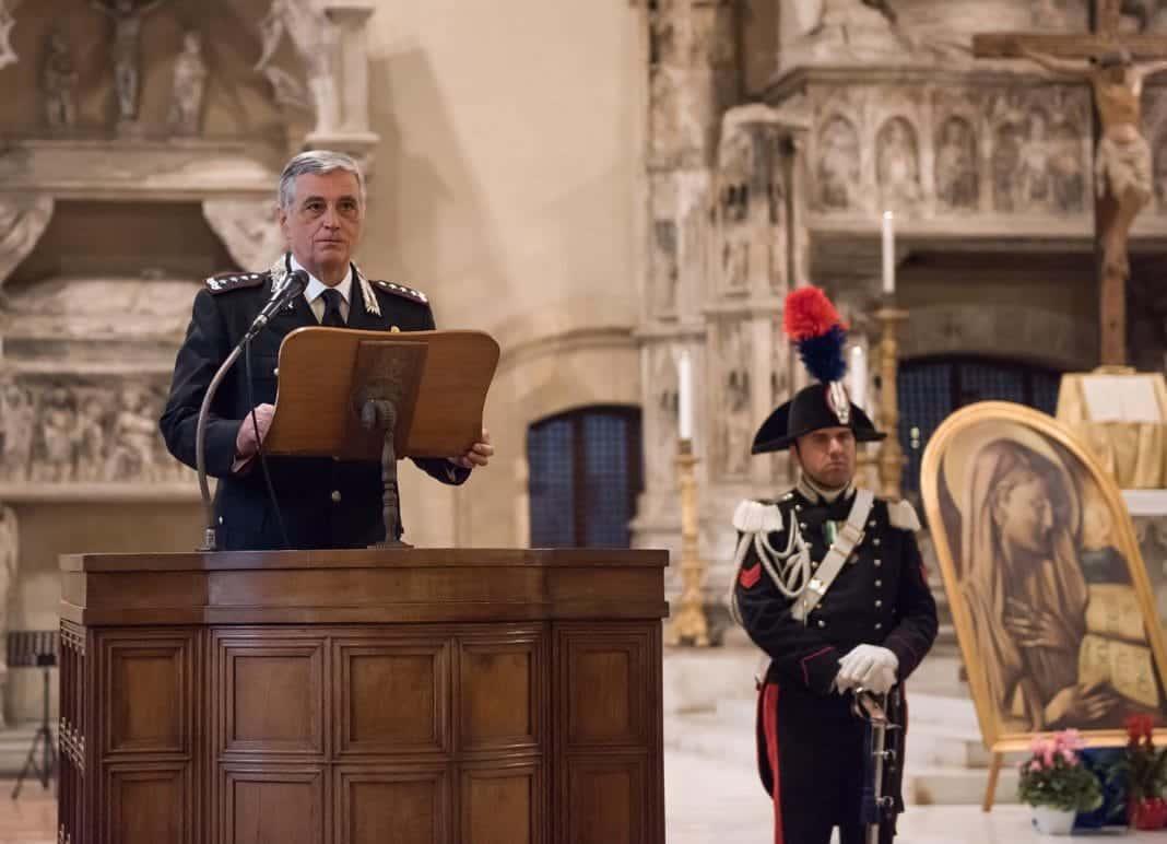 virgo fidelis carabinieri napoli