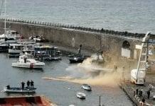 esercitazione antincendio porto di torre del greco