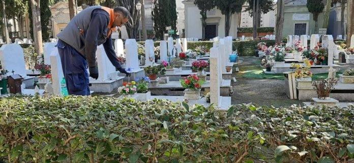 foto cimitero fiori san giorgio