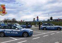 polizia controlli stradale coronavirus