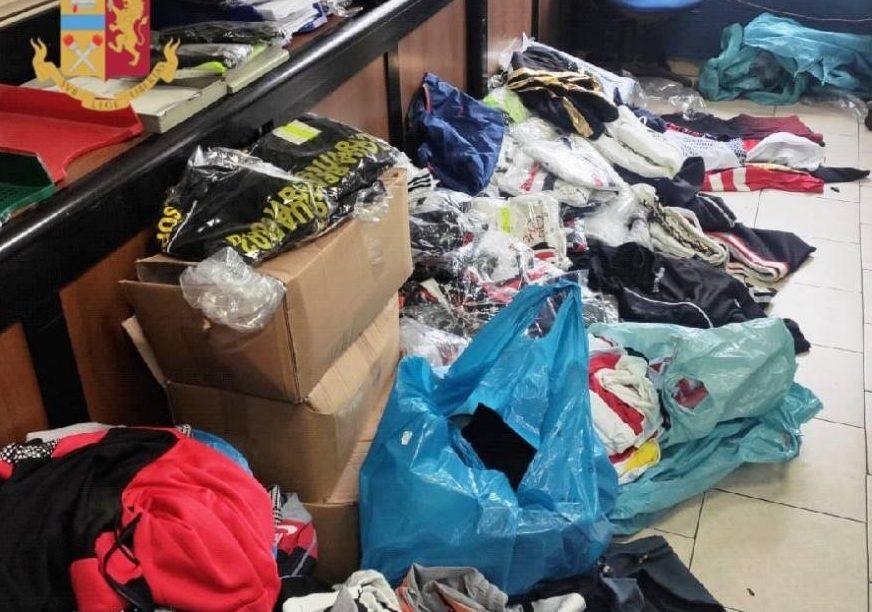 vestiti contraffatti
