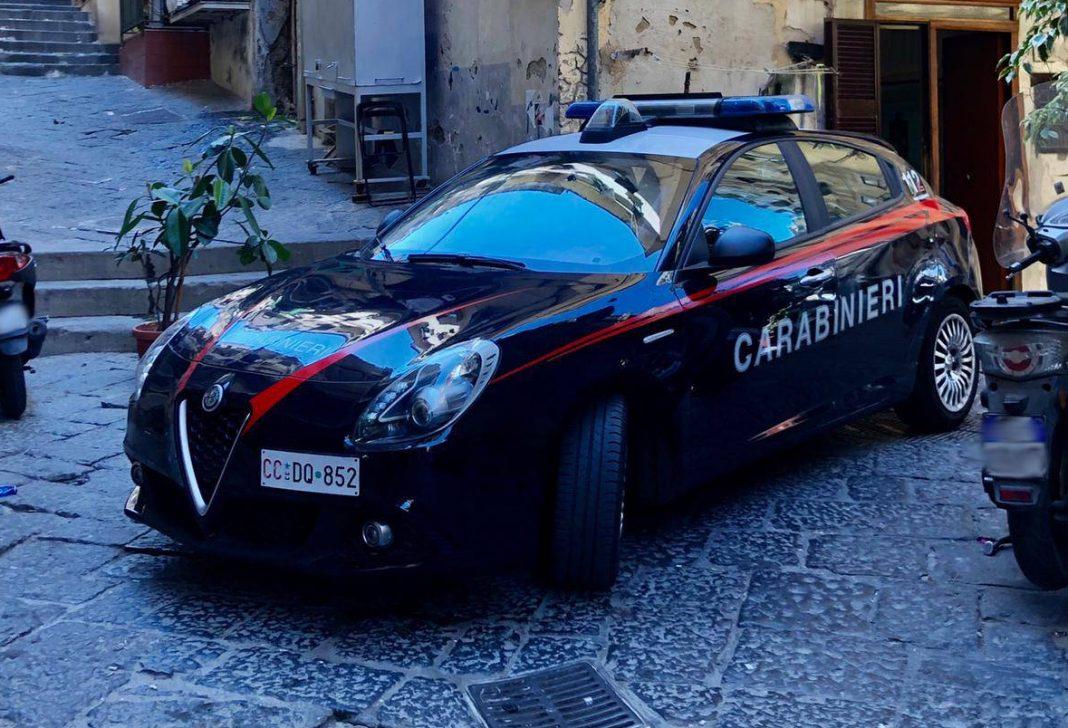 carabinieri quartieri spagnoli
