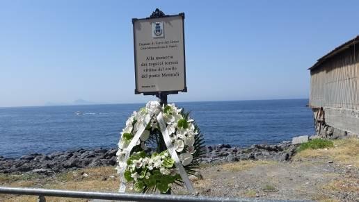 commemorazione crollo ponte morandi