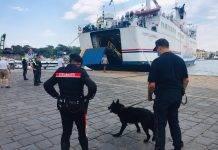 carabinieri droga ischia