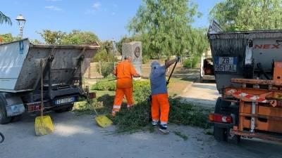 pulizia parchi pubblici