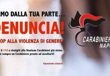 Carabinieri violenza di genere